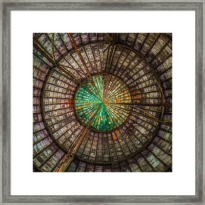 Urbex Spin Framed Print