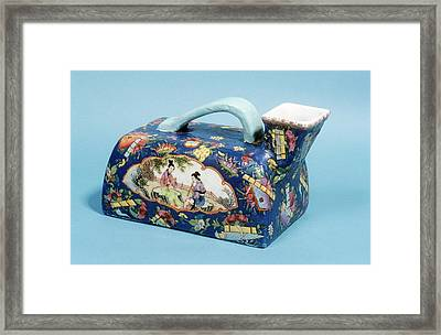 Urinal Framed Print by Science Photo Library