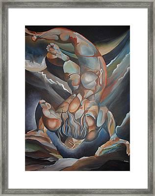 Urizen Framed Print