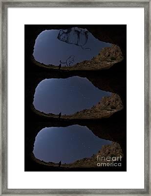 Ursa Major & Ursa Minor Framed Print by Babak Tafreshi