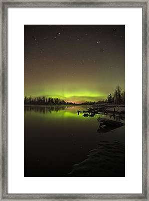 Ursa Major Framed Print by Ted Raynor