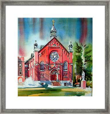 Ursuline Academy Sanctuary Framed Print by Kip DeVore