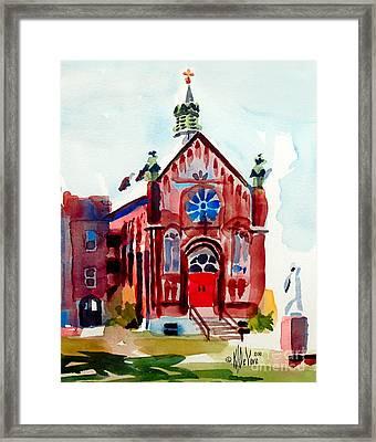 Ursuline II Sanctuary Framed Print by Kip DeVore