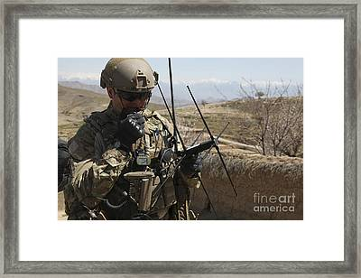 U.s. Air Force Joint Terminal Attack Framed Print by Stocktrek Images