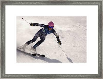 Us Alpine Championships Framed Print