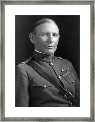Us Army Brigadier General Framed Print by Granger