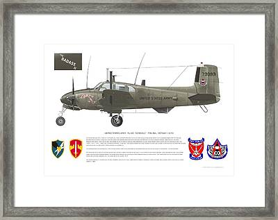 U.s. Army Ru-8d 138th Framed Print