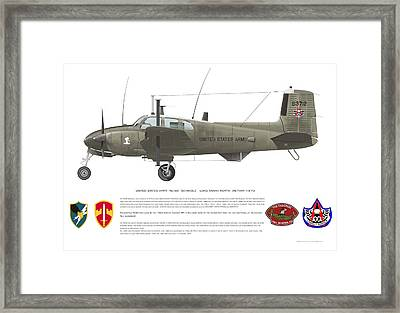U.s. Army Ru-8d 146th Framed Print