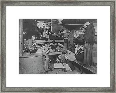 U.s. Army Signal Corps Music-makers Framed Print by Stocktrek Images