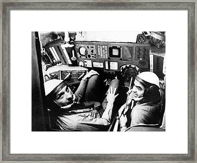 Us Astronaut Thomas Stafford Training Framed Print by Nasa
