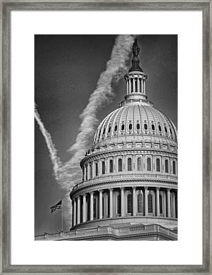 U.s. Capitol Dome Framed Print by Boyd Alexander