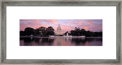 Us Capitol Washington Dc Framed Print