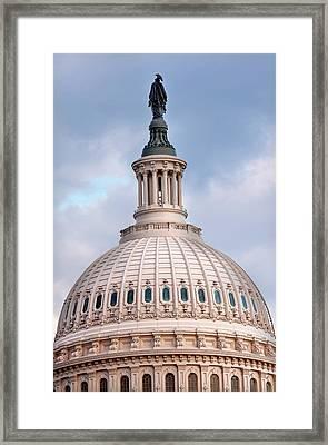 Us Capitol, Washington Dc Framed Print
