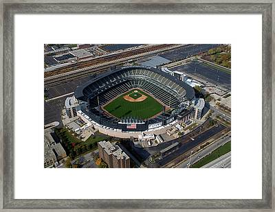 Us Cellular Field Chicago Sports 08 Framed Print by Thomas Woolworth