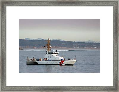 U.s. Coast Guard Cutter - Hawksbill Framed Print