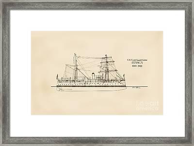 U. S. Coast Guard Cutter Itasca Framed Print