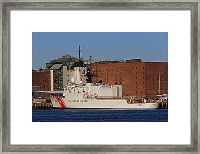 Us Coast Guard Cutter Seneca Framed Print by Juergen Roth
