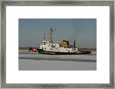 Us Coast Guard Framed Print
