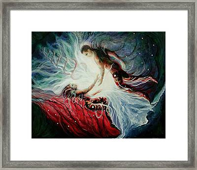 US Framed Print by Doe-Lyn