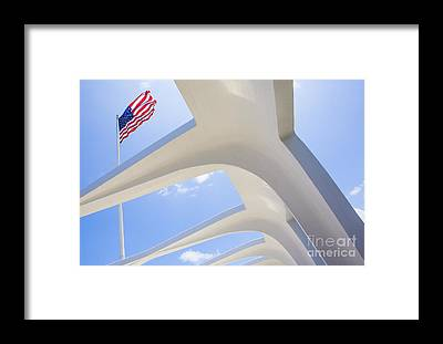 Uss Arizona Framed Prints