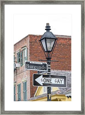 Us, La, New Orleans, French Quarter Framed Print by Trish Drury