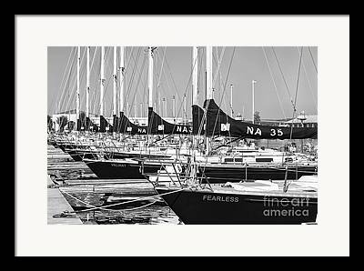 Sail Training Framed Prints