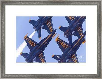 Us Navy Blue Angels 5d29597 Framed Print