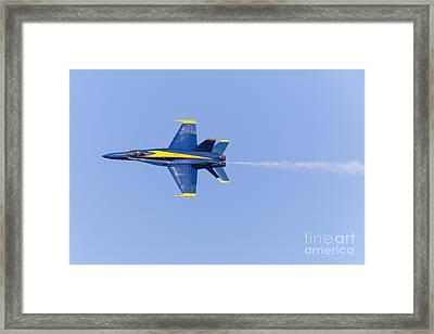 Us Navy Blue Angels At San Francisco Fleet Week 5d29592 Framed Print