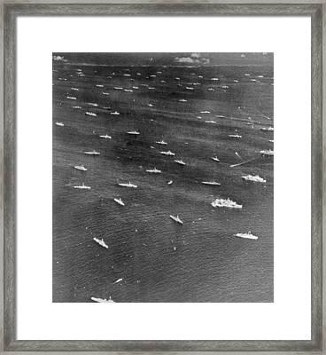 U.s. Navy Wwii Task Force Framed Print