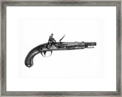 U.s. North Model 1816 Pistol Framed Print