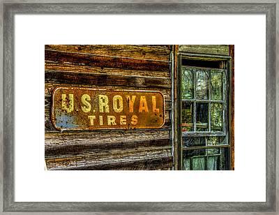 Us Royal Framed Print by Russ Burch