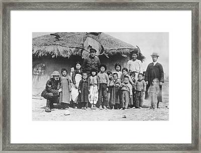 U.s. Soldiers In Siberia Framed Print