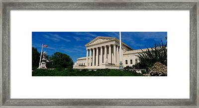 Us Supreme Court Building, Washington Framed Print by Panoramic Images