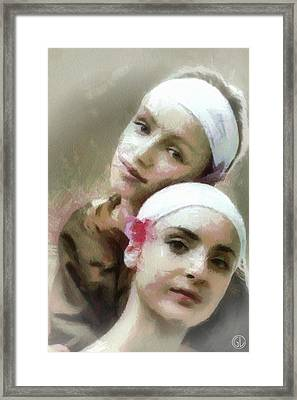 Us Two Framed Print by Gun Legler