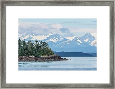 Usa, Alaska Air Taxi Flies Framed Print by Jaynes Gallery