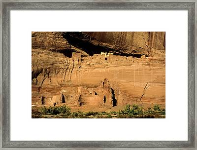 Usa, Arizona, Canyon De Chelly National Framed Print by Ann Collins