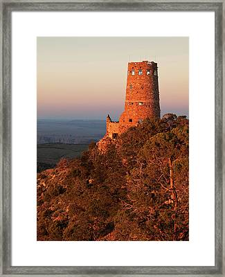 Usa, Arizona, Grand Canyon National Park Framed Print by Ann Collins