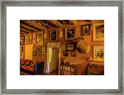 Usa, Arizona, Hubbell Trading Post Framed Print