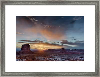 Usa, Arizona, Monument Valley Framed Print by John Ford