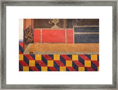 Usa, Arizona, O'odham San Xavier Indian Framed Print