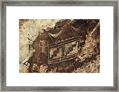 Usa, Arizona, Petrified Forest Framed Print