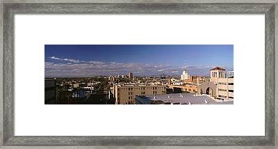 Usa, Arizona, Phoenix, Aerial View Framed Print by Panoramic Images