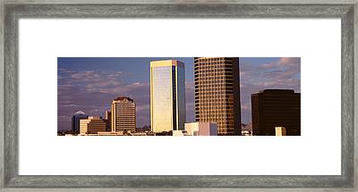 Usa, Arizona, Phoenix, Cloudscape Framed Print by Panoramic Images