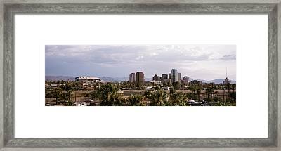 Usa, Arizona, Phoenix, High Angle View Framed Print by Panoramic Images