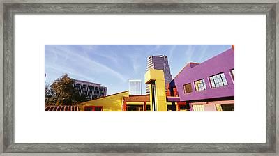 Usa, Arizona, Tucson, La Placita Framed Print by Panoramic Images