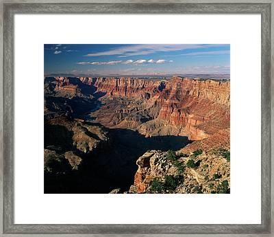 Usa, Arizona, View Of Grand Canyon Framed Print by Adam Jones