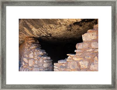 Usa, Arizona, Walnut Canyon Framed Print