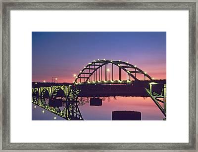 Usa, Arkansas, Ozark Framed Print