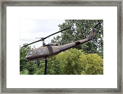 Usa Army Helicopter Framed Print by Kim Stafford