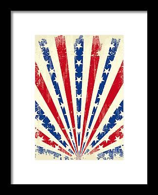 Star-spangled Banner Framed Prints